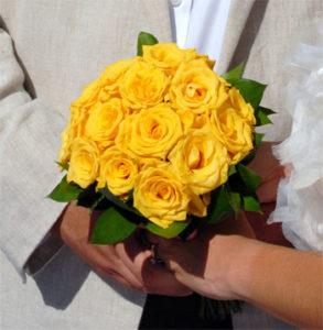 Bukiety ślubne Santorini
